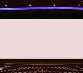 Straight Cyclorama Screen