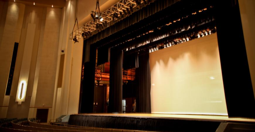 Cyclorama Screen For Auditoriums Theatre Stage Curtains